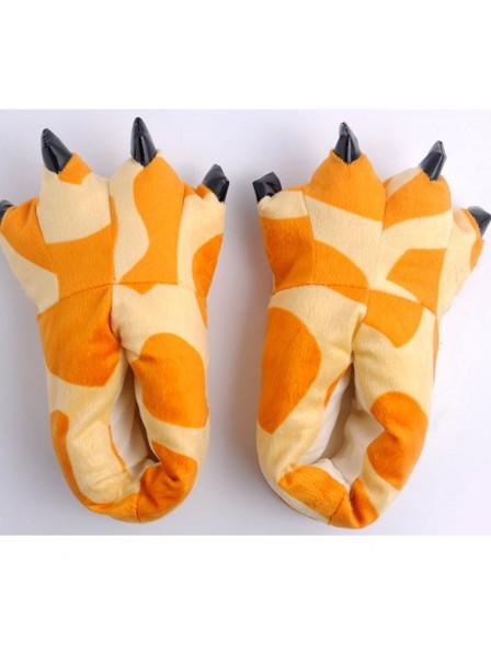 Giraffe PatternPlüsch Pfote Kralle Hausschuhe Pantoffel Tier Hirsch Pattern Kostüm Schuhe
