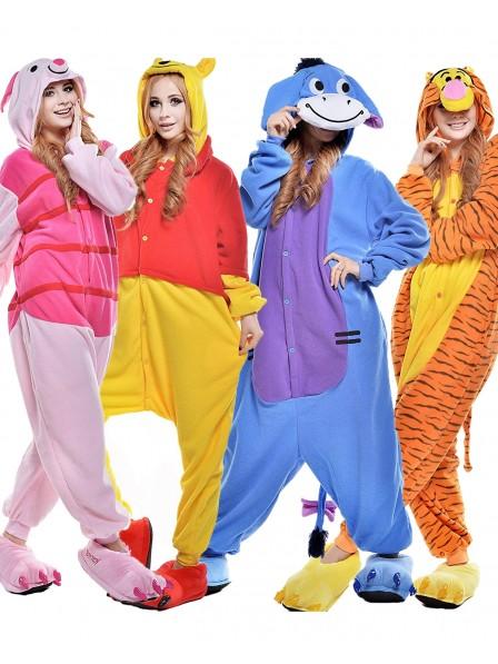 Winnie the Pooh Onesies & Tigger & Piglet & I-Aah Pyjamas für Erwachsene