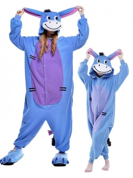 I-Aah Kigurumi Onesie Pyjamas Tier Kostüme für Erwachsene und Kinder