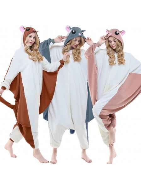 Flughörnchen Schlafanzug Kostüme Onesie Tierkostüm Für Erwachsene Pyjama