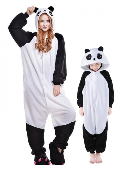 Panda Kigurumi Unisex Onesie Pyjamas Tier Kostüme für Erwachsene und Kinder