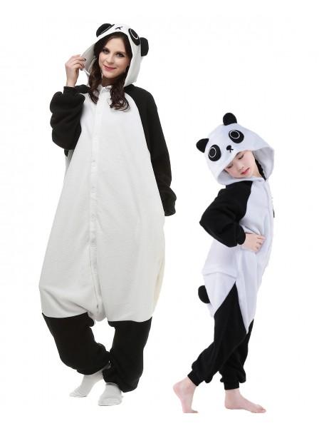 Panda Kigurumi Unisex Onesie Pyjamas Tier Schlafanzug Kostüm für Erwachsene und Kinder