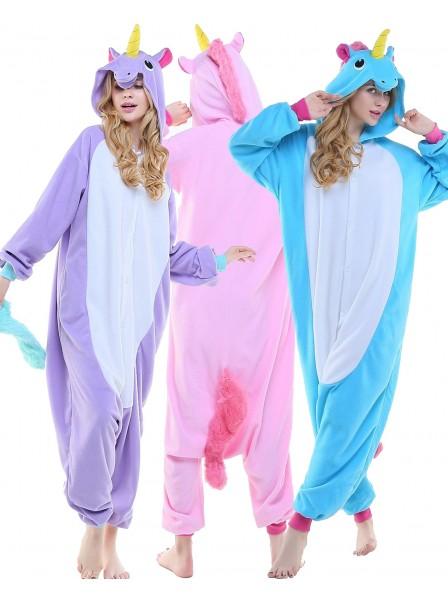 Einhorn Schlafanzug Kostüm Onesie Tierkostüm Für Erwachsene Pyjama