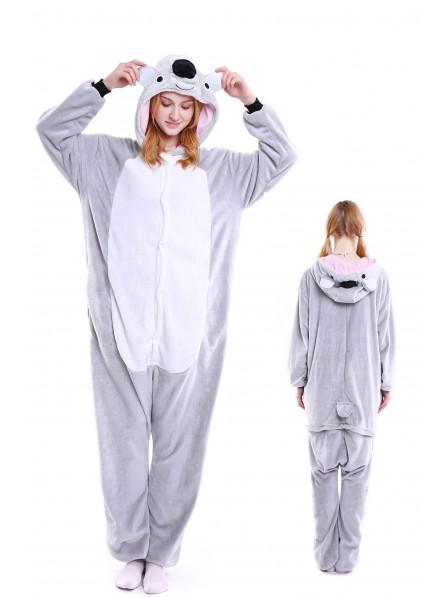 suche nach echtem Großbritannien suche nach original Koala Pyjama Onesies Weich Tier Kostüme Für Damen & Herren Schlafanzug  Kostüm
