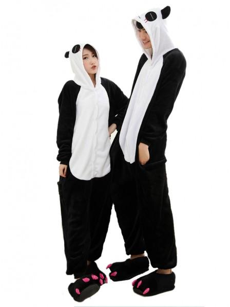 Panda Pyjama Onesies Weich Tier Kostüme Für Damen & Herren Schlafanzug Kostüm