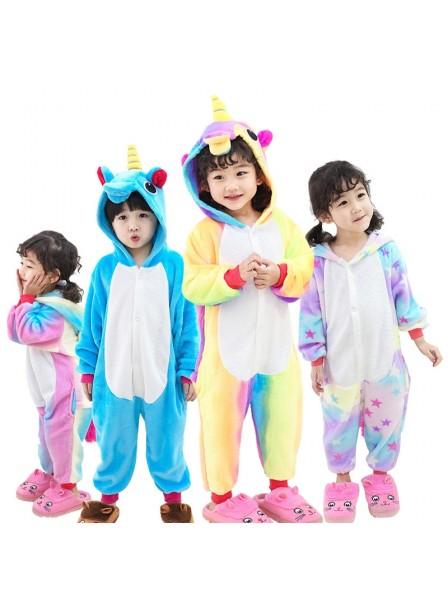 Einhorn Schlafanzug Kostüm Onesie Tierkostüm Für Jugend Pyjama