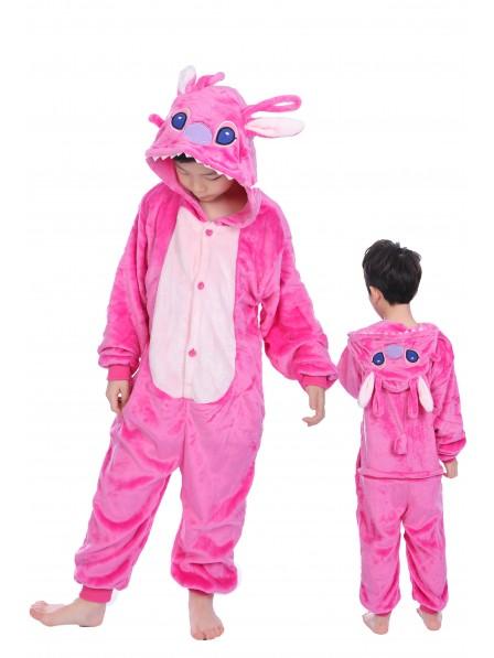 Pink Stitch Anagel Pyjama Onesies Kinder Tier Kostüme Für Jugend Schlafanzug Kostüm
