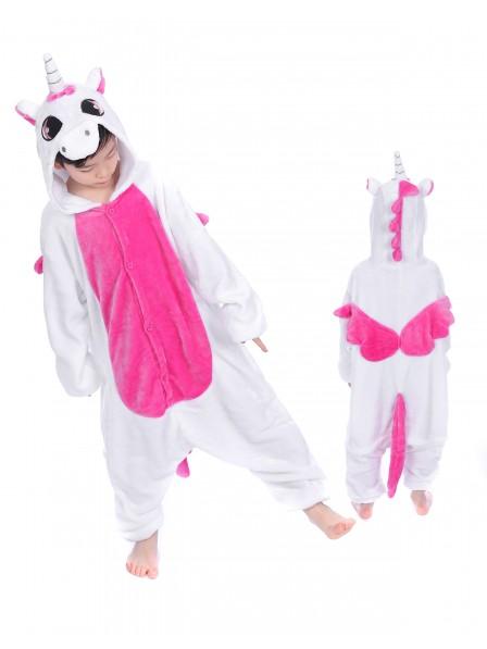 Rosa Einhorn With Wings Pyjama Onesies Kinder Tier Kostüme Für Jugend Schlafanzug Kostüm