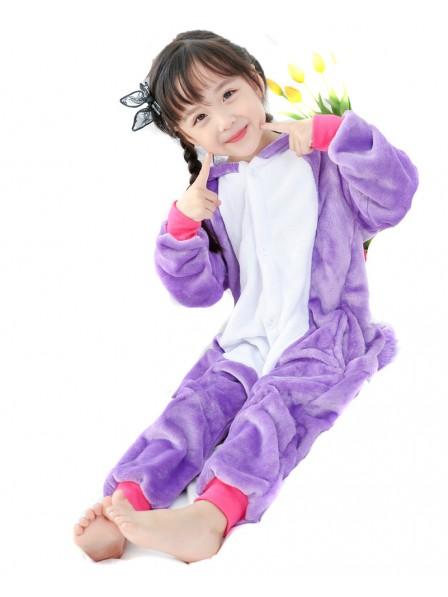 Violettes Einhorn Pyjama Onesies Kinder Tier Kostüme Für Jugend Schlafanzug Kostüm