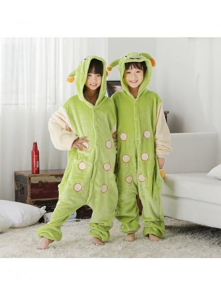 Raupe Pyjama Onesies Kinder Tier Kostüme Für Jugend Schlafanzug Kostüm