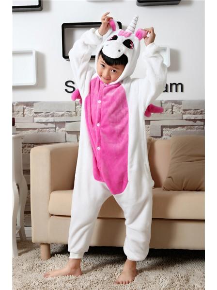 Rosa Einhorn Pyjama Onesies Kinder Tier Kostüme Für Jugend Schlafanzug Kostüm