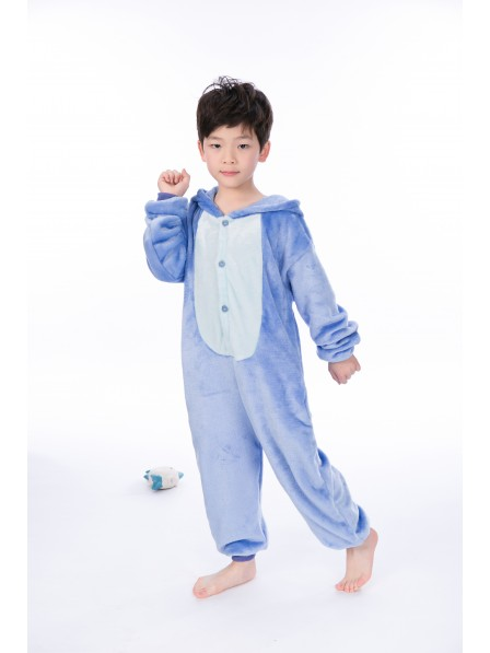 Stitch Pyjama Onesies Kinder Tier Kostüme Für Jugend Schlafanzug Kostüm