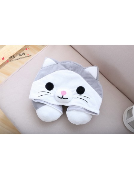 Süße Katze Nackenkissen