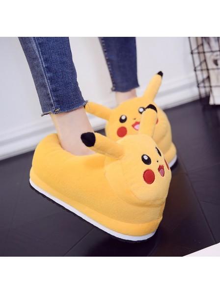 Pikachu Hausschuhe Tier Kostüm Schuhe