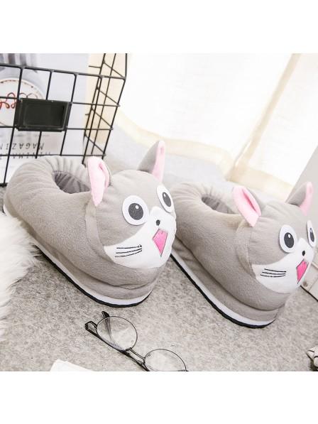 Getigerte Katze Hausschuhe Tier Kostüm Schuhe