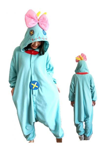 Lilo & Stitch Doll Pyjama Onesies Tier Schlafanzug Kostüm