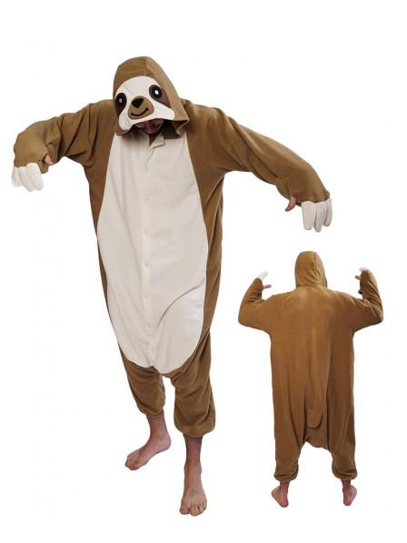 Faultier Pyjama Onesies Tier Schlafanzug Kostüm