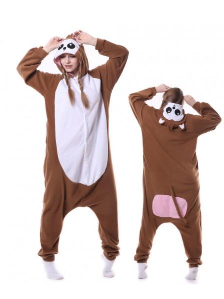 Affe Pyjama Onesies Tier Schlafanzug Kostüm