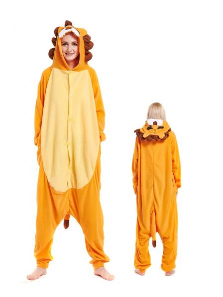Löwe Pyjama Onesies Tier Schlafanzug Kostüm