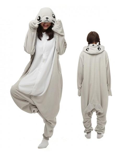 Robbe Pyjama Onesies Tier Kostüme Für Erwachsene Schlafanzug Kostüm
