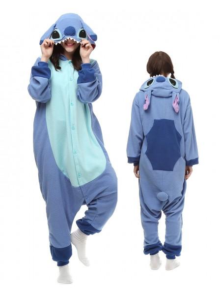Stitch Pyjama Onesies Tier Kostüme Für Erwachsene Schlafanzug Kostüm