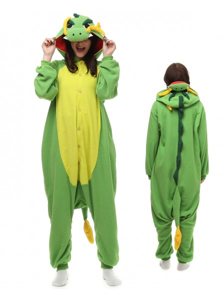 Chinesischer Drache Pyjama Onesies Tier Kostüme Für Erwachsene Schlafanzug Kostüm