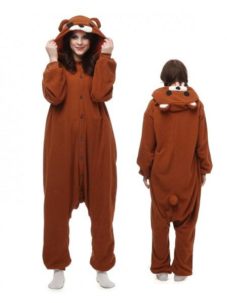 Braunbär Pyjama Onesies Tier Kostüme Für Erwachsene Schlafanzug Kostüm