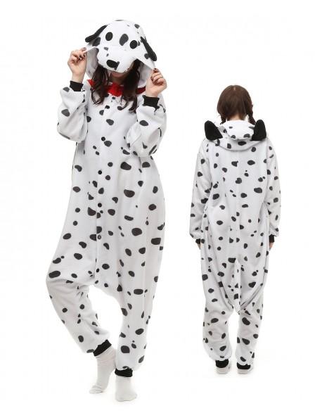 Spotted Dog Pyjama Onesies Tier Kostüme Für Erwachsene Schlafanzug Kostüm