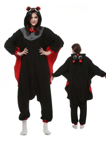 Fledermäuse Pyjama Onesies Tier Kostüme Für Erwachsene Schlafanzug Kostüm