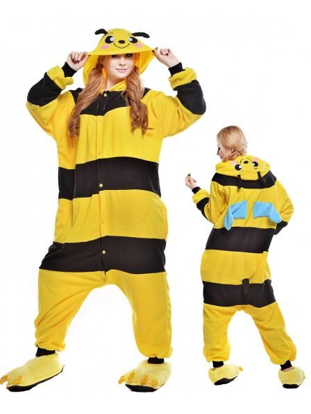 Honigbiene Pyjama Onesies Tier Kostüme Für Erwachsene Schlafanzug Kostüm