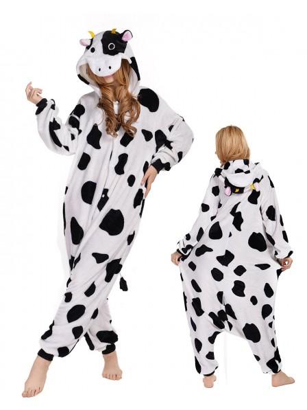 Kuh Pyjama Onesies Tier Kostüme Für Erwachsene Schlafanzug Kostüm