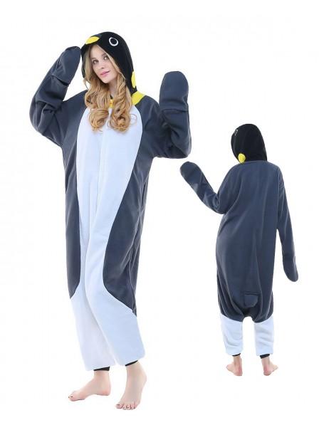 Grauer Pinguin Pyjama Onesies Tier Kostüme Für Erwachsene Schlafanzug Kostüm