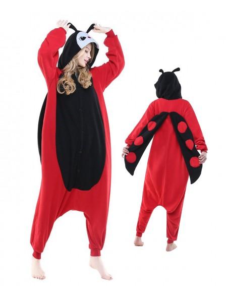Marienkäfer Pyjama Onesies Tier Kostüme Für Erwachsene Schlafanzug Kostüm