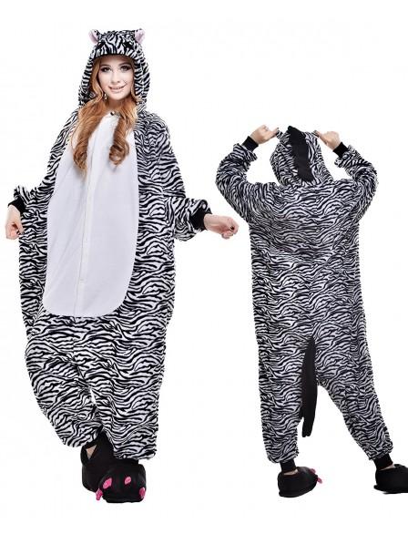 Zebra Pyjama Onesies Tier Kostüme Für Erwachsene Schlafanzug Kostüm