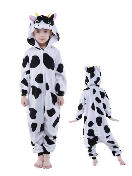 Kuh Onesie Kinder Tier Kostüme Für Jugend Schlafanzug Kostüm