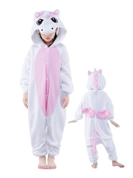 Rosa Einhorn Onesie Kinder Tier Kostüme Für Jugend Schlafanzug Kostüm